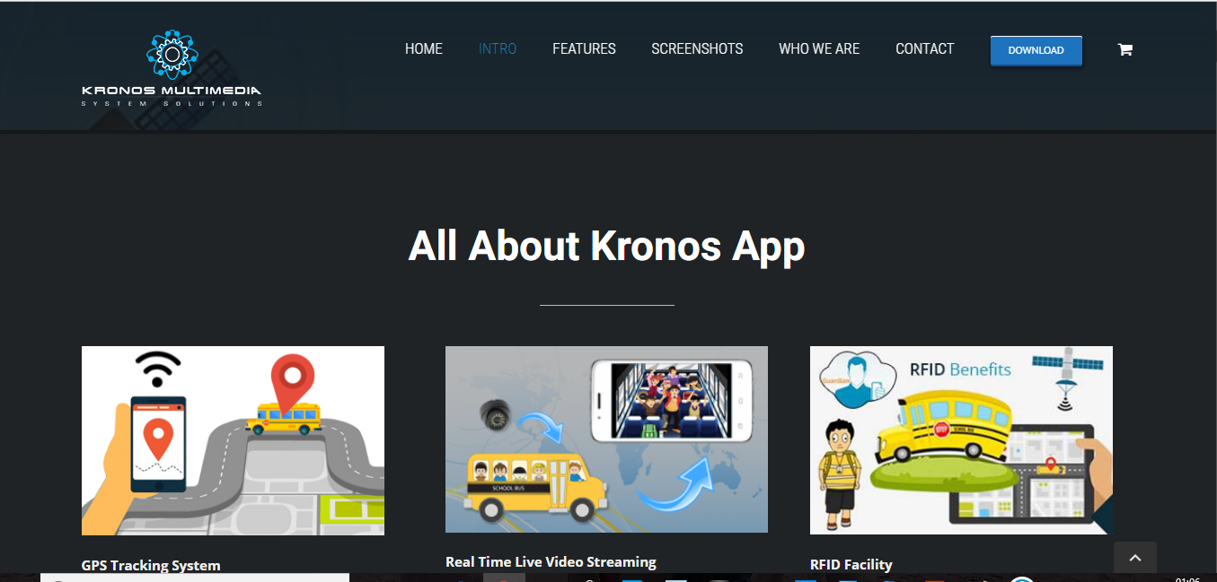 Kronos Multimedia – Website